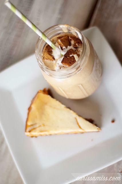 Carissa Miss: pumpkin cheesecake milkshake