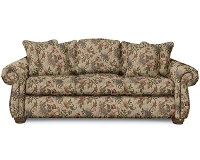 Overstuffed Sofa Affordable Living Room Memorable Front