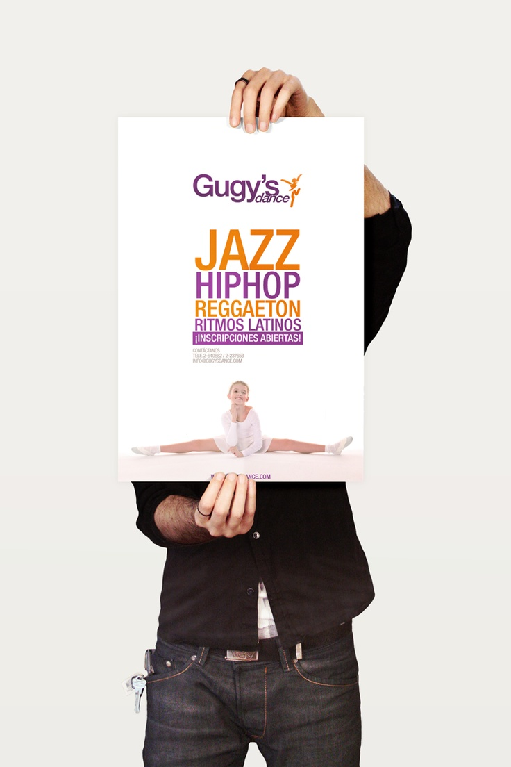 Diseño de Poster - Gugy's Dance