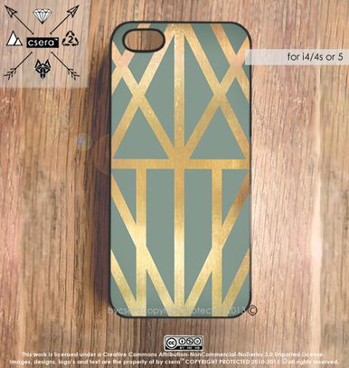 Aztec Gold iPhone Case - Bycsera