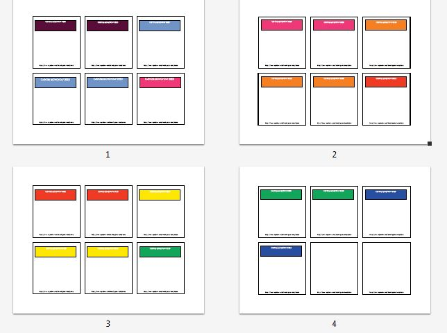 Custom Card Template monopoly cards template : Monopoly Property Card Template Editable monopoly property