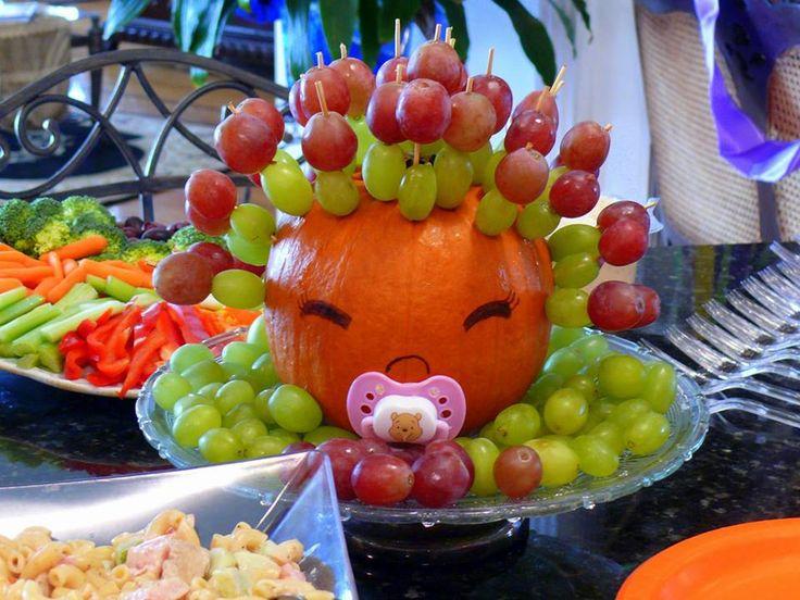 Food For Halloween Baby Shower Baby Singleton Pinterest