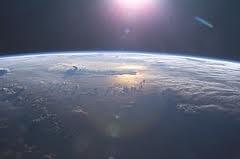 pacific ocean from space  Pacific ocean from space