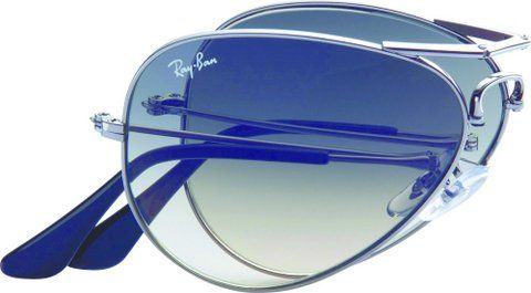 Ray-Ban Folding Aviator via kingray.co.za:  Fold and go with the high end technology of 8 hinges. Unisex. Find it here http://www.sunglasshut.com/us/61745 #Sunglasses #Rayban #Folding_Aviator