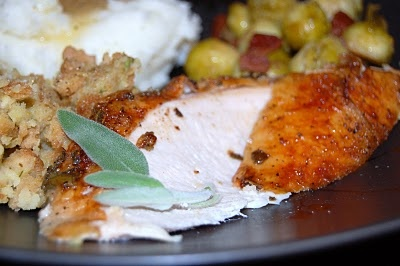 Roasted Turkey Breast With Sage And Cayenne Recipes — Dishmaps