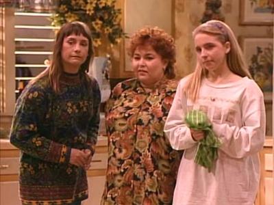 roseanne valentine's day episode cast