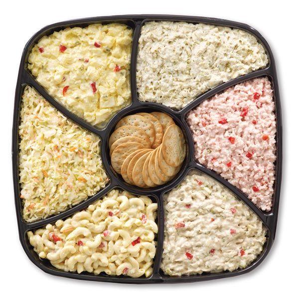 ... Potato Salad, Macaroni Salad, Ham Salad, Shredded Cole Slaw, Tuna