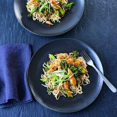 Recipe - Chilli & Ginger Chicken Noodles
