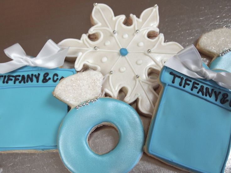 Tiffany & Co Winter Cookies | Cookies!!! | Pinterest