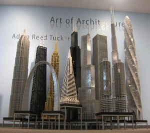 Adam reed Tucker. Lego cityscape.
