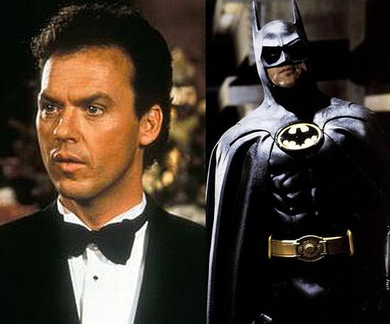 Michael Keaton as Batman 1989 and 1992