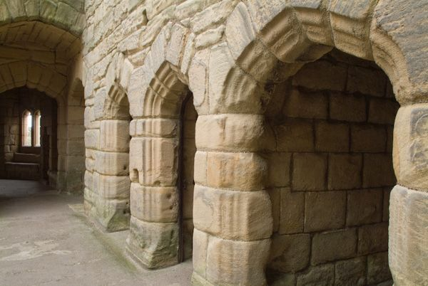 Pin by jennifer williams on inside historic castles for Interior wall arches