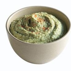 Parsley Hummus for Cauliflower Crudites | Flavor! Sauces, dips, salad ...