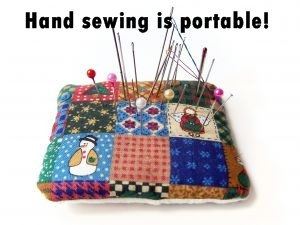Green Issues: Benefits of hand sewing