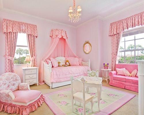 Princess bedroom home decor decorating bedrooms for Princess bedroom design