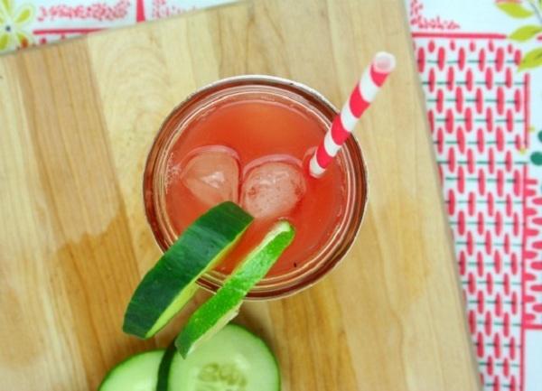 Watermelon Cucumber Cooler | Drinks | Pinterest