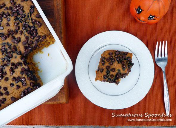 Yum Yum Pumpkin Bars (Lowfat … with Low Sugar Option) | Recipe
