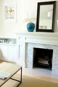 Fireplace Facade Ideas : fireplace facades - Google Search  interior  Pinterest