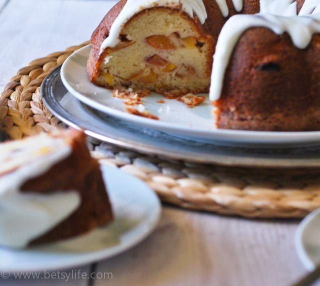 Peaches and Cream Bundt Cake | Recipe