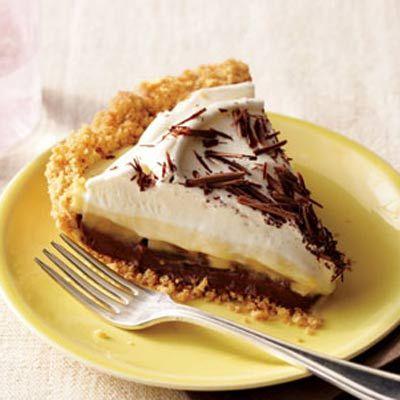 Black Bottom Banana Cream Pie | Dessert, Breads, Danishes and more ...