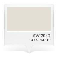 Sw 7042 Shoji White Color Inspiration Pinterest