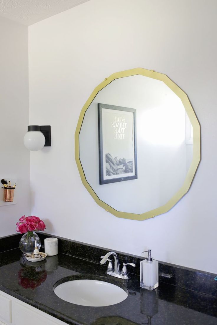 How to fix a mirror to the wall