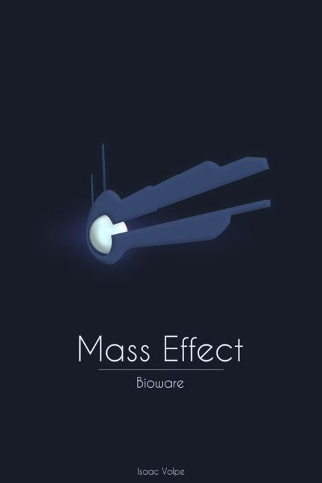A minimalist take on Mass Effect (M) for wall decor.  | Xbox Spaces