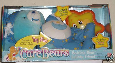 Care Bears Bedtime Bear Lullaby Melody - Light-up Tummy ...