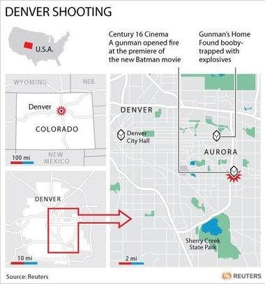 Police: Weeks of planning went into shootings that killed 12, injured scores at Batman screening in Colorado - U.S. News