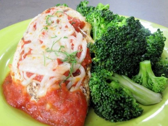 Grilled Chicken Parmesan recipe picture | Recipes | Pinterest
