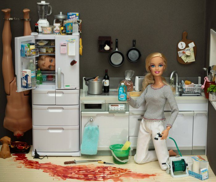 CSI: Barbie