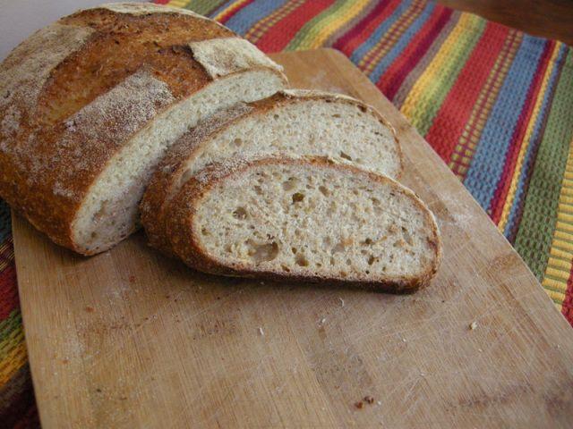 Maple-oatmeal sourdough bread. | Bread recipes | Pinterest