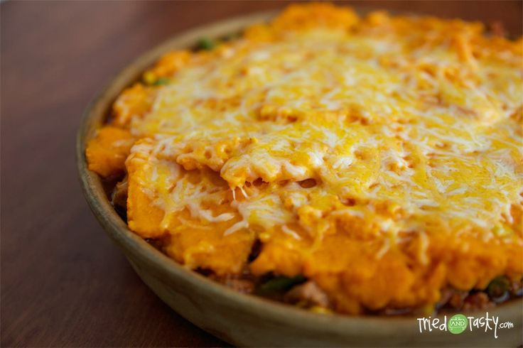 Healthy Sweet Potato Shepherd's Pie | Food | Pinterest