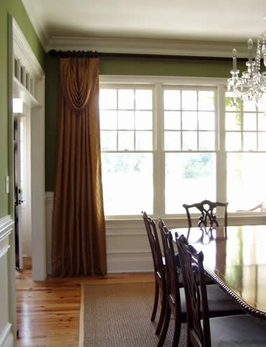 dining room window treatment home sweet home pinterest
