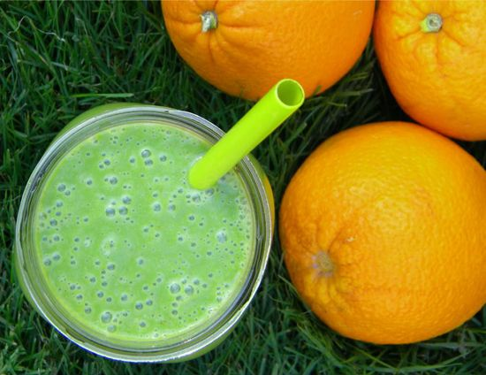 Creamsicle Green Smoothie | The new fit me | Pinterest
