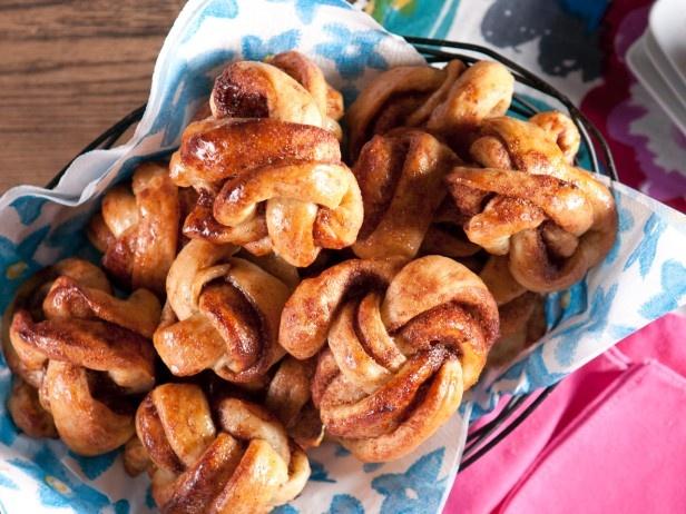 Cinnamon Knots from CookingChannelTV.com