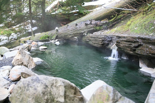 Olympic Hot Springs Washington Travel Pinterest