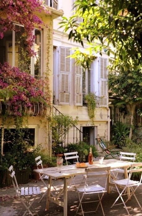 french country courtyard garden courtyard gardens