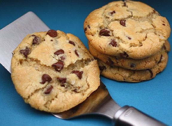 New York Times Chocolate Chip Cookies.....the most time-consuming ...