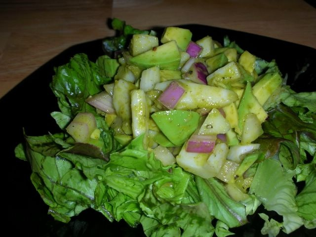 Avocado Salad with Hearts of Palm | Break the food spell (healthy rec ...