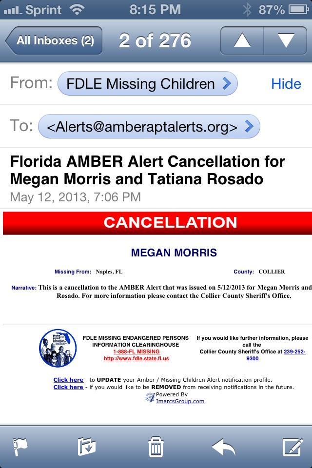 Cxl Fl Amber Alert  Amber Alerts By Amber Apartment Alerts