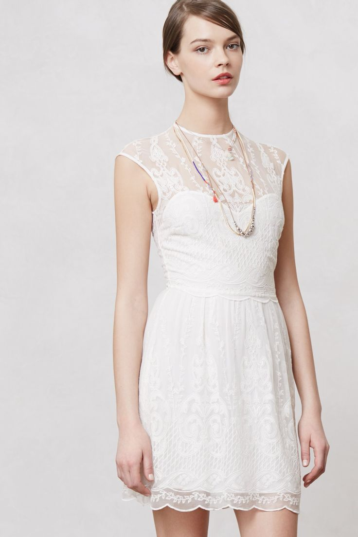 kenna lace dress anthropologiecom little white dress