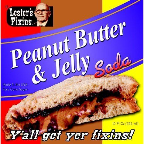 Peanut Butter & Jelly Soda $4.95 | Products | Pinterest