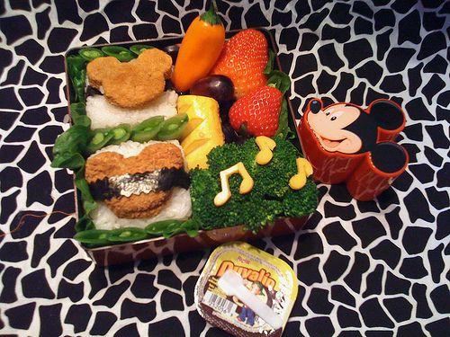 Mickey Mouse Bento | Everything Disney | Pinterest