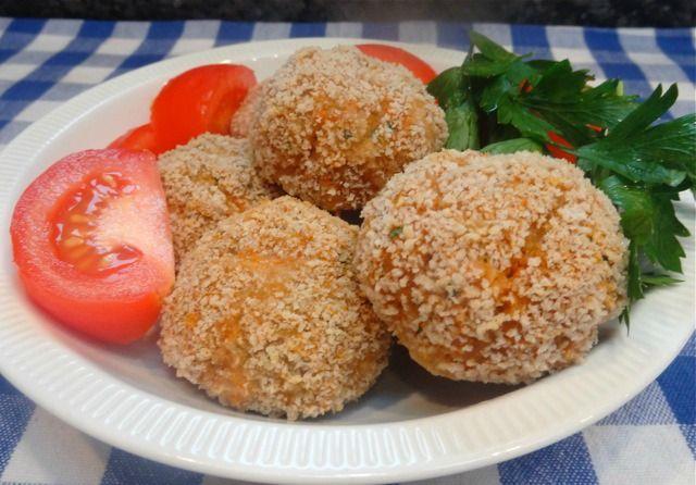 Turkey-Veggie Meatballs with Panko Crust
