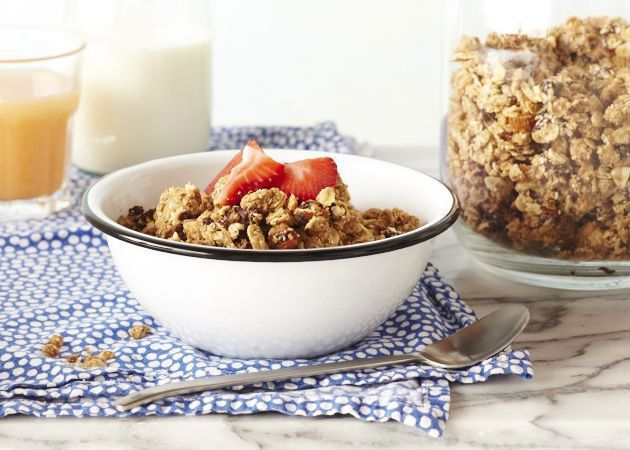 Chocolate Almond Granola | Cooking With Kids | Pinterest