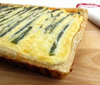 Asparagus and bacon quiche. | Things I can eat on Saturday :) | Pinte ...