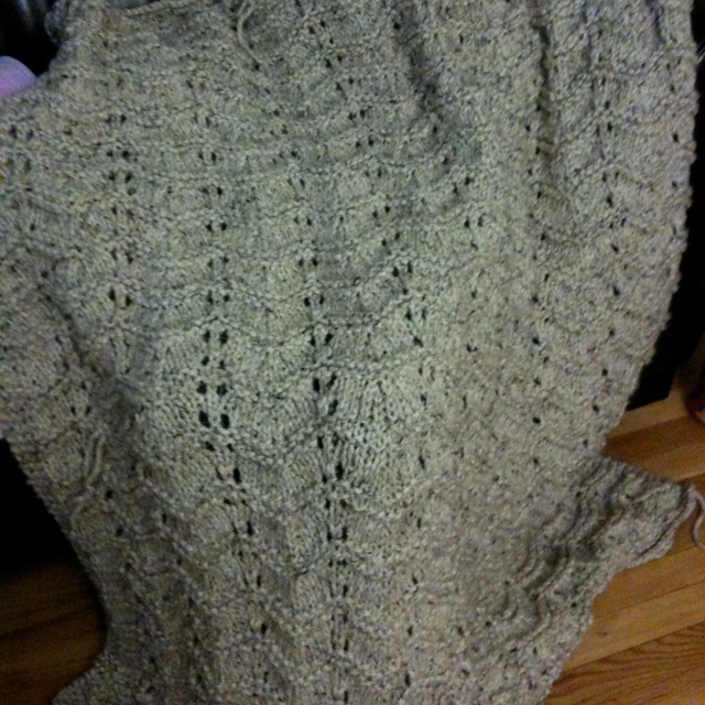 Knitting Afghan Patterns Pinterest : Knit afghan My knitting projects Pinterest
