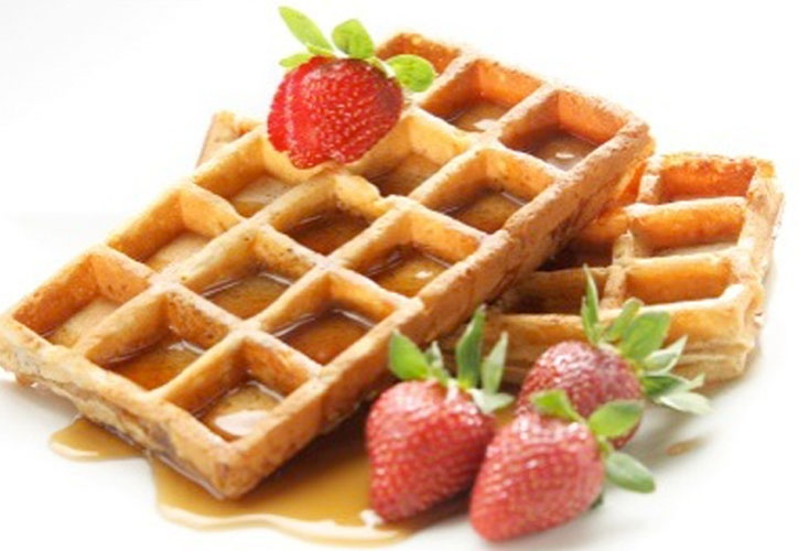 Healthy Whole Grain Waffles | Eats | Pinterest