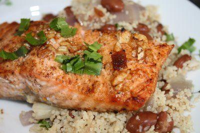 Chipotle Salmon | Aggie's Kitchen | It's only 17 days | Pinterest